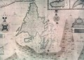 Map of the Newfoundland - Augustine Fitzhugh