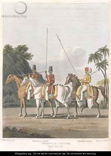 Irregular Cavalry Bengal Army - (after) Fitzclarence, George Augustus