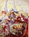 Fairies with Birds - John Anster Fitzgerald