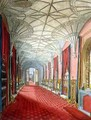 Interior of St Michaels Gallery Fonthill Abbey - (after) Finley, W.