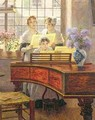 Around the Piano - Walther Firle