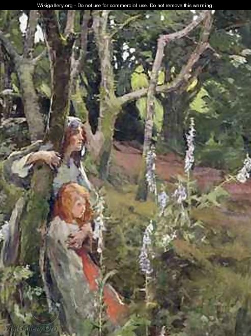 The Enchanted Wood - Elizabeth Stanhope Forbes