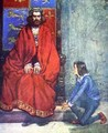 The little boy knelt before the King and stammered out the story - A.S. Forrest