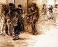 At the Court - Jean-Louis Forain