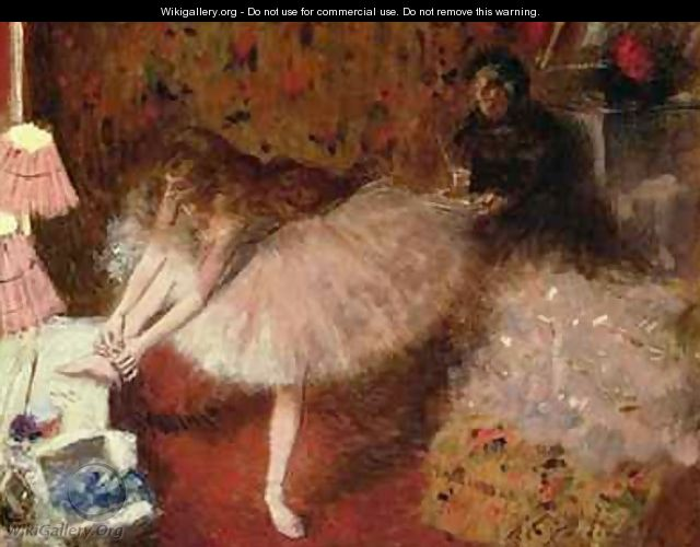 Dancer in her Dressing Room - Jean-Louis Forain