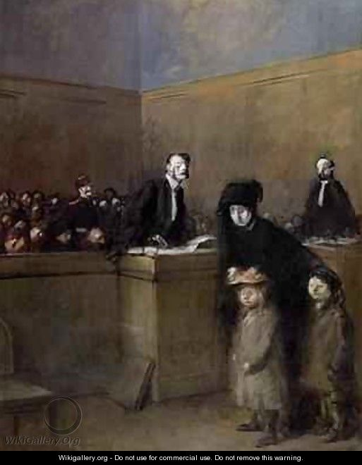 The Weak and the Oppressed - Jean-Louis Forain