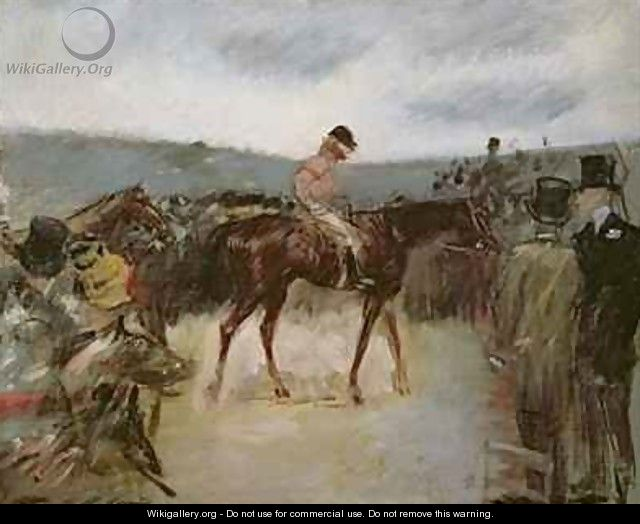 At the races - Jean-Louis Forain
