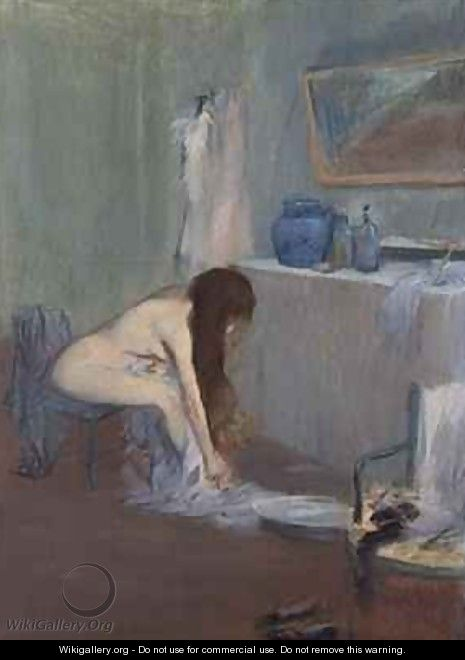 After the Bath - Jean-Louis Forain