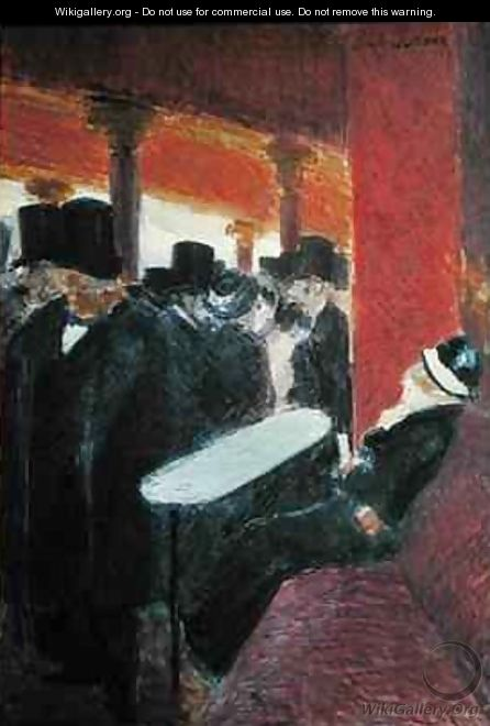 At the Folies Bergeres - Jean-Louis Forain