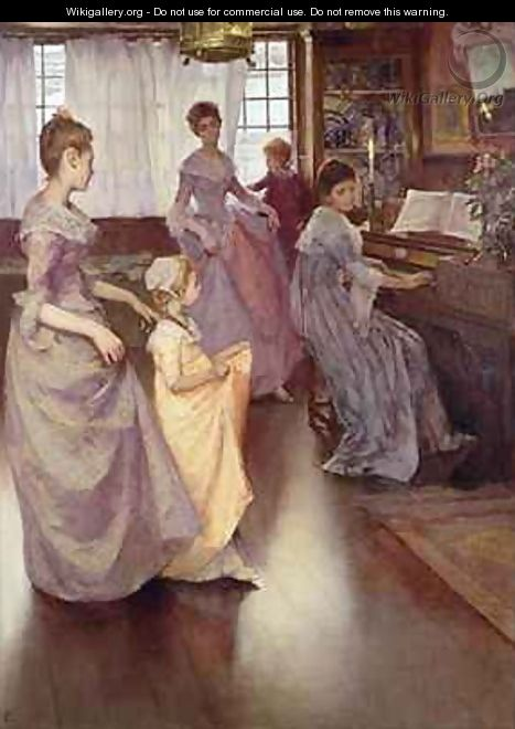 The Minuet - Elizabeth Stanhope Forbes