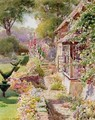 Kings Manor Garden at East Hendred - Charles Edwin Flower