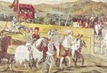 Tournament in Honour of Christian I 1426-81 of Denmark at Castello di Malpaga - Marcello Fogolino