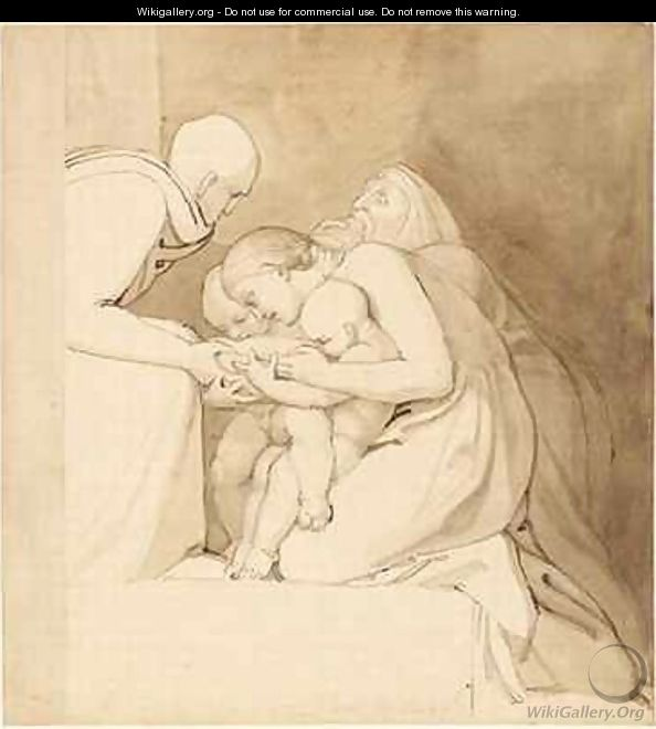 Feed the Hungry - John Flaxman