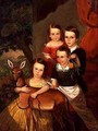 Portrait of the Jones Children of Galveston - Thomas Flintoff