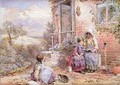 The Story Book - Myles Birket Foster