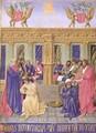The Fountain of the Apostles from the Hours of the Cross and the Holy Spirit - Jean Fouquet