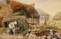 Washing Day at Balmarcara - Myles Birket Foster