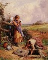 At The Well - Myles Birket Foster
