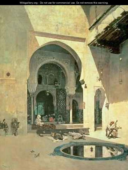 The Court of the Alhambra - Mariano Fortuny y Marsal