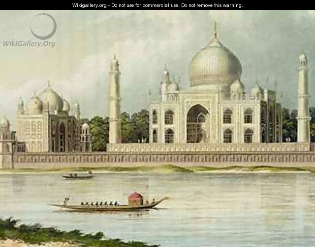 The Taj Mahal Tomb of the Emperor Shah Jehan and his Queen - (after) Forrest, Charles Ramus