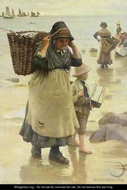 The Fish Fag - William Banks Fortescue