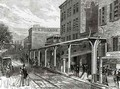 Elevated Railway in Greenwich Street New York - Stanley Fox