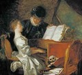 The Music Lesson - Jean-Honore Fragonard