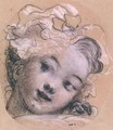 Portrait presumed to be Rosalie daughter of the artist - Jean-Honore Fragonard