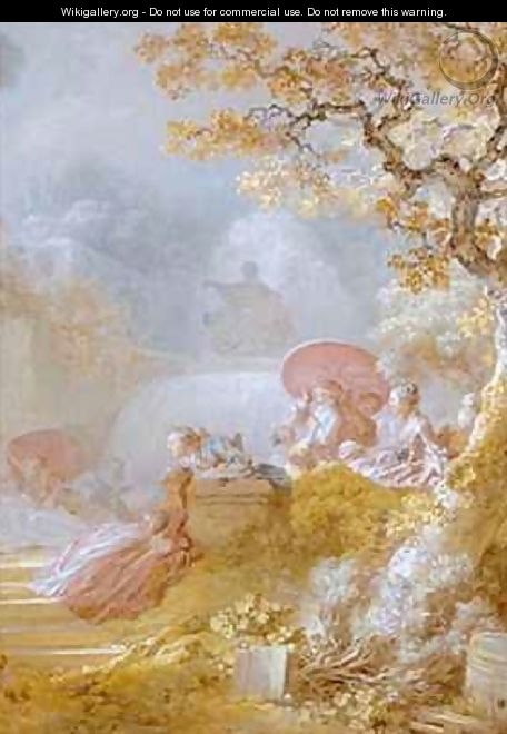 Blindmans Buff Le Colin Maillard - Jean-Honore Fragonard