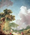 The Swing 2 - Jean-Honore Fragonard