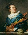 Figure of Fantasy Portrait of the Abbot of Saint Non 1727-91 - Jean-Honore Fragonard