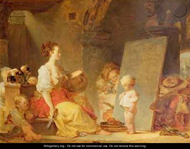 Say Please - Jean-Honore Fragonard
