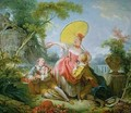 The Musical Contest 2 - Jean-Honore Fragonard
