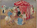 On the Sand - Emanuel Phillips Fox