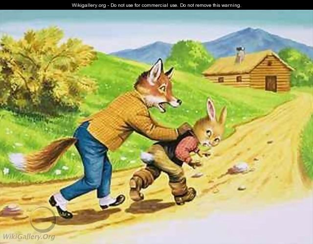 Brer Rabbit 25 - Henry Charles Fox