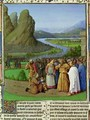 David Learning of the Death of Saul from Antiquites Judaiques - Jean Fouquet