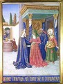 The Visitation from Hours of the Virgin - Jean Fouquet