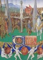 The Martyrdom of St Peter before Emperor Nero - Jean Fouquet