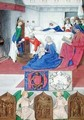 The Birth of St John the Baptist from Hours of the Virgin - Jean Fouquet