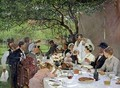 The Wedding Meal at Yport - Albert-Auguste Fourie