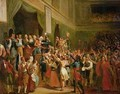 Francois Antoine Boissy dAnglas 1756-1826 saluting the head of the deputy Jean Bertrand Feraud 1759-95 - Charles Fournier