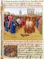 Supplication of the heretics - Jean Fouquet