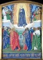 The Assumption of the Virgin from the Hours of Etienne Chevalier - Jean Fouquet