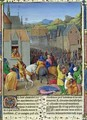 Entry of Ptolemy Soter into Jerusalem - Jean Fouquet