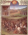 Battle of the Hebrews against the Canaanites - Jean Fouquet