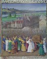 The Fall of Jericho - Jean Fouquet