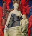Virgin and Child Surrounded by Angels - Jean Fouquet