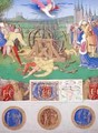 The Suffering of the Saints the Martyrdom of St Catherine of Alexandria from the Hours of Etienne Chevalier - Jean Fouquet