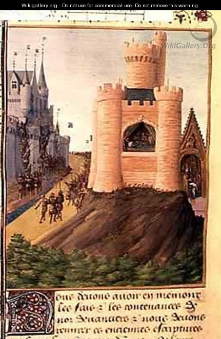 The Death of Louis VIII 1187-1226 King of France - Jean Fouquet