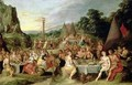 The Worship of the Golden Calf - Frans the younger Francken